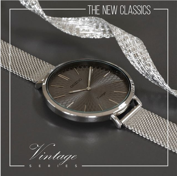 Screenshot 2018 12 07 Oozoo Timepieces Auf Instagram The New Classics From The Vintage Series Flower Patterned Dial W