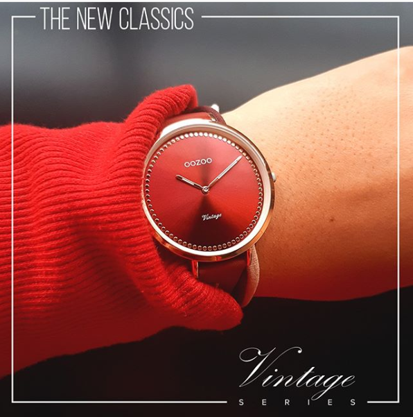 Screenshot 2018 12 07 Oozoo Timepieces Auf Instagram The New Classics From The Vintage Series Lady In Red   Design C9854